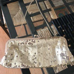 LIKE NEW LOFT Sequin purse!